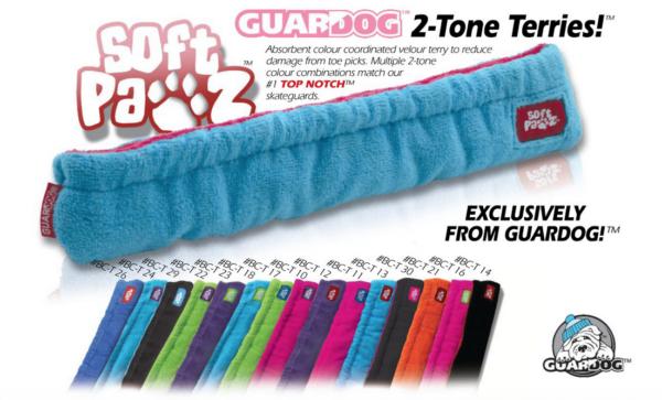 GuarDog 2-Tone Terries pehmeät teräsuojat-0
