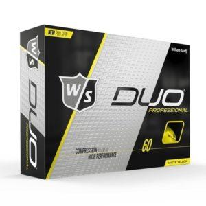 Wilson Staff Duo Professional pallotusina keltainen-0