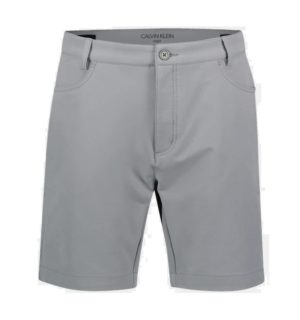 Calvin Klein 4-Way Stretch golfshortsit Silver-0